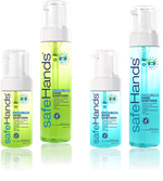 SafeHands Alcohol-Free Instant Hand Sanitizers